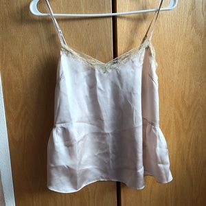 Ivory and Black Altar'd State Lace Cami